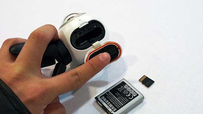 samsung gear 360 batteria