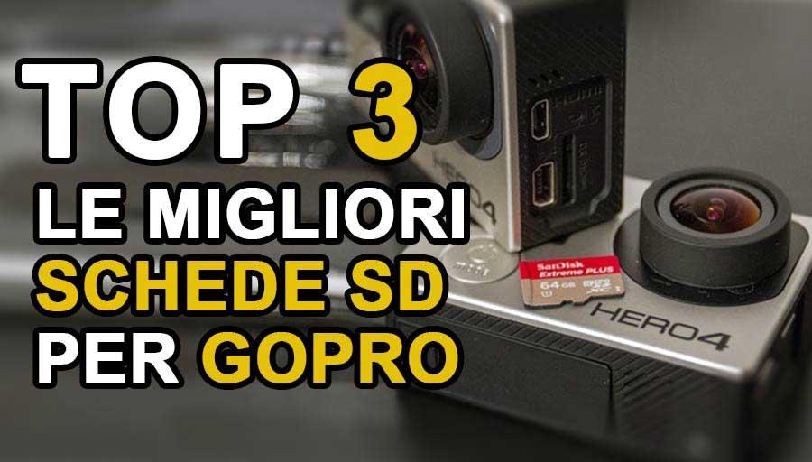 Migliori schede sd per GoPro